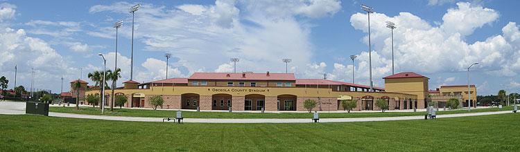 Osceola County Stadium In Kissimmee