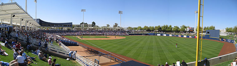 Maryvale ballpark, Spring Training home of te Milwaukee Brewers