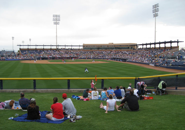 Peoria Sports Complex - Mariners and Padres Spring Training