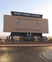 Peoria Sports Complex Mariners And Padres Spring Training