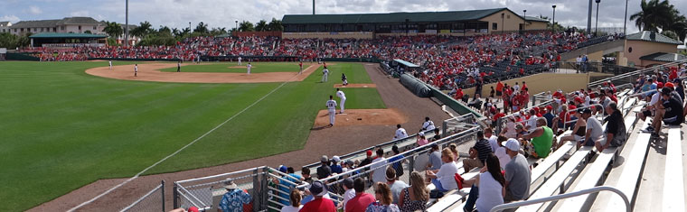 Image result for roger dean stadium, jupiter, florida