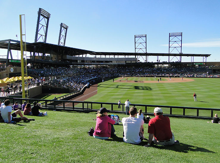 Salt River Fields Diamondbacks And Rockies Spring Training