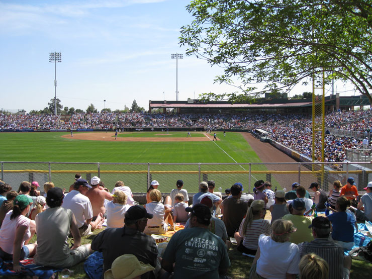 Scottsdale Stadium San Francisco Giants Spring Training