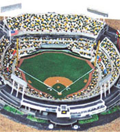 Oakland A's replica ballpark
