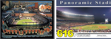 Major League ballpark puzzles