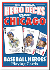Chicago Cubs baseball playing cards