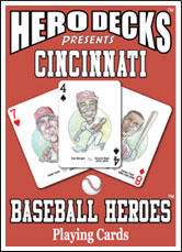 Cincinnati Reds hero deck cards