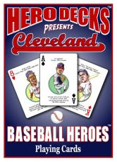Cleveland baseball playing cards