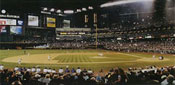 Chase Field panorama poster