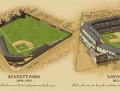 Ballparks of Detroit poster