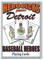 Detroit baseball playing cards