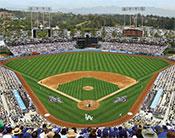 Mural of Dodger Stadium