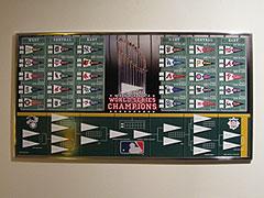 Major League Baseball Standings Board