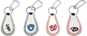 Major League baseball key chains