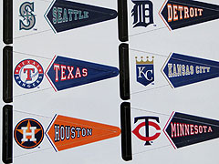 Major League Baseball Standings Board