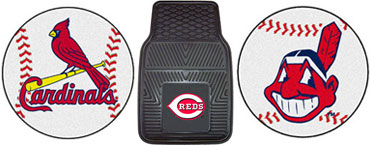 Baseball home and car mats
