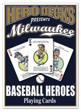 Milwaukee baseball playing cards
