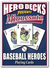 Minnesota baseball playing cards