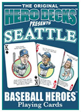 Seattle baseball playing cards
