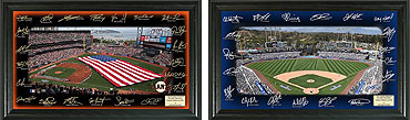 Major League Baseball signature fields