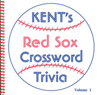 Red Sox crossword trivia book