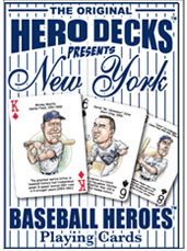 New York Yankees baseball playing cards