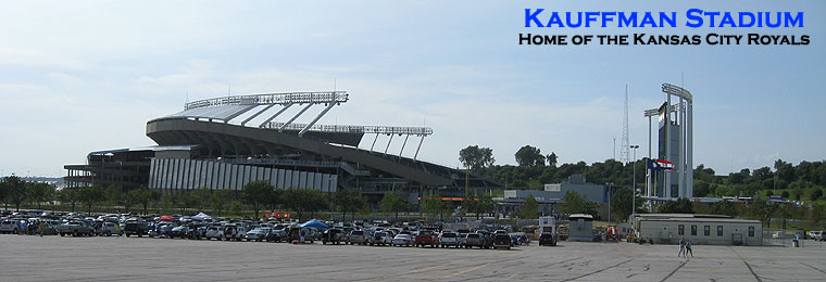 Kauffman Stadium received a $256 million facelift that was finished in 2009