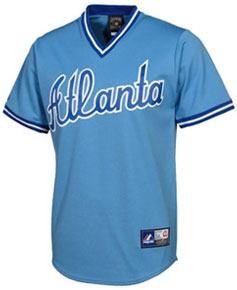 Atlanta Braves throwback jersey