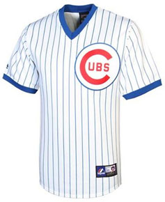 Chicago Cubs throwback jersey