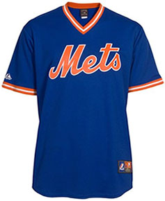 New York Mets throwback jersey