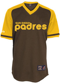 San Diego Padres throwback jersey