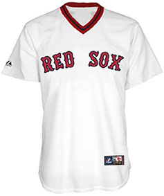 Boston Red Sox throwback jersey