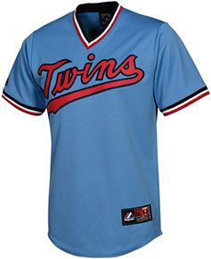 Minnesota Twins throwback jersey