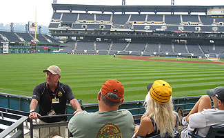 A ballpark tour of PNC Park in Pittsburgh