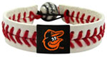 Baltimore Orioles baseball wristband