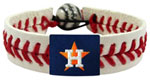 Houston Astros baseball bracelet