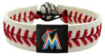 Miami Marlins baseball bracelet