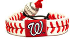 Washington Nationals baseball wristband