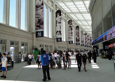 The Great Hall within Yankee Stadium